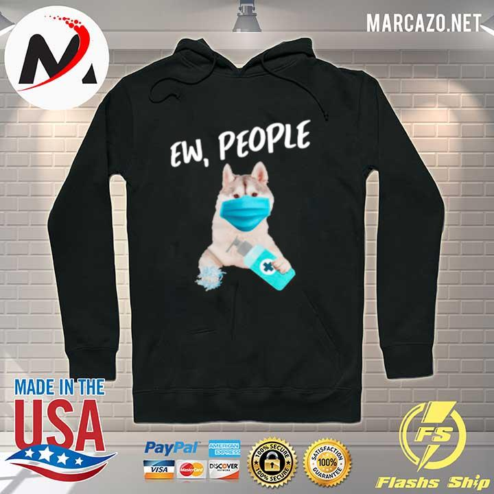 Siberian Husky Face Mask Ew People s Hoodie