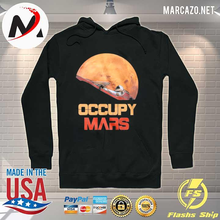 The Occupy Mars Starman s Hoodie