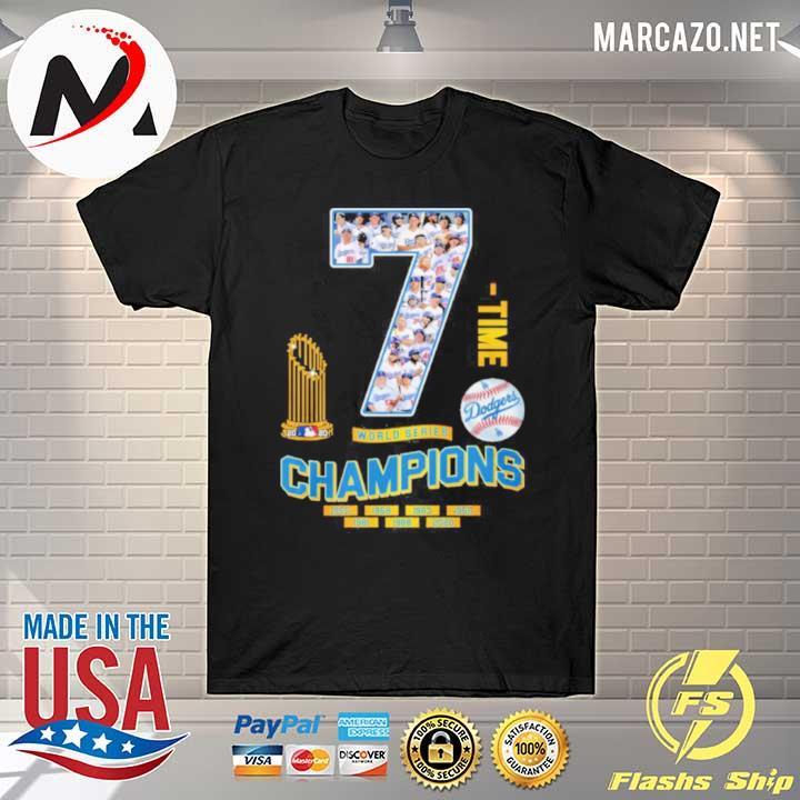 2020 7 time world series champion 1955 2020 shirt