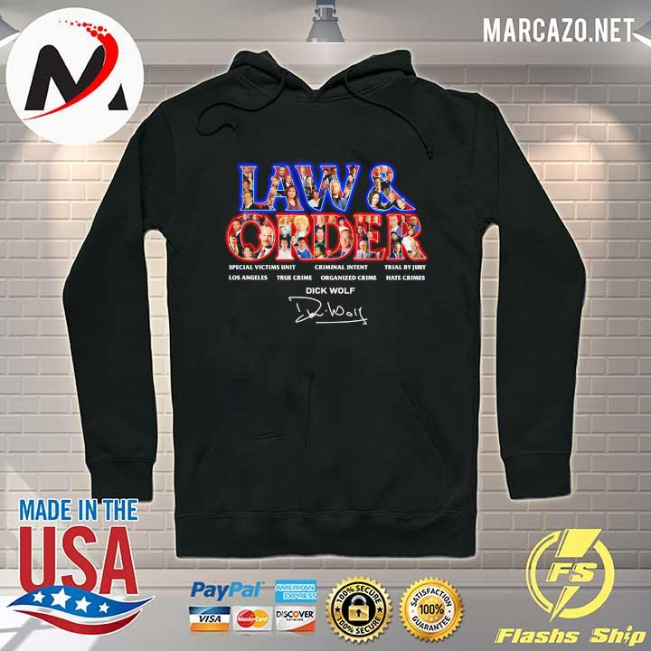 Jaw & Order Special Victims Unit Criminal Intent Trial By Jury signaute Hoodie