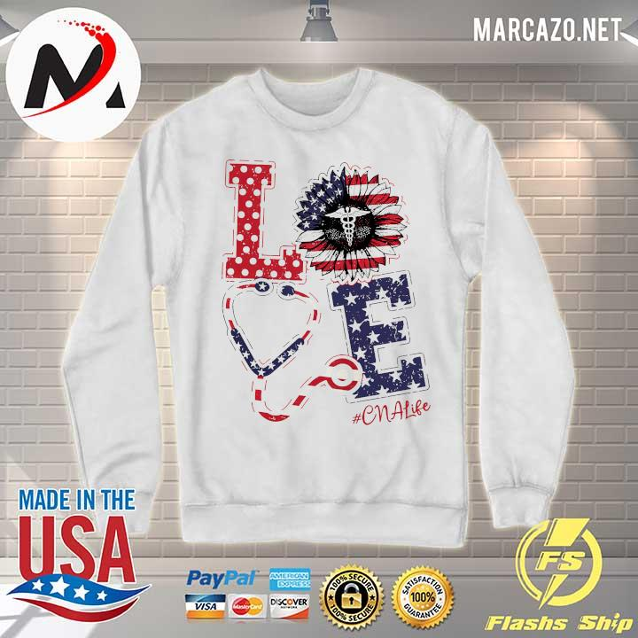 American Love Nurse Life Sunflower - Independence Day ...