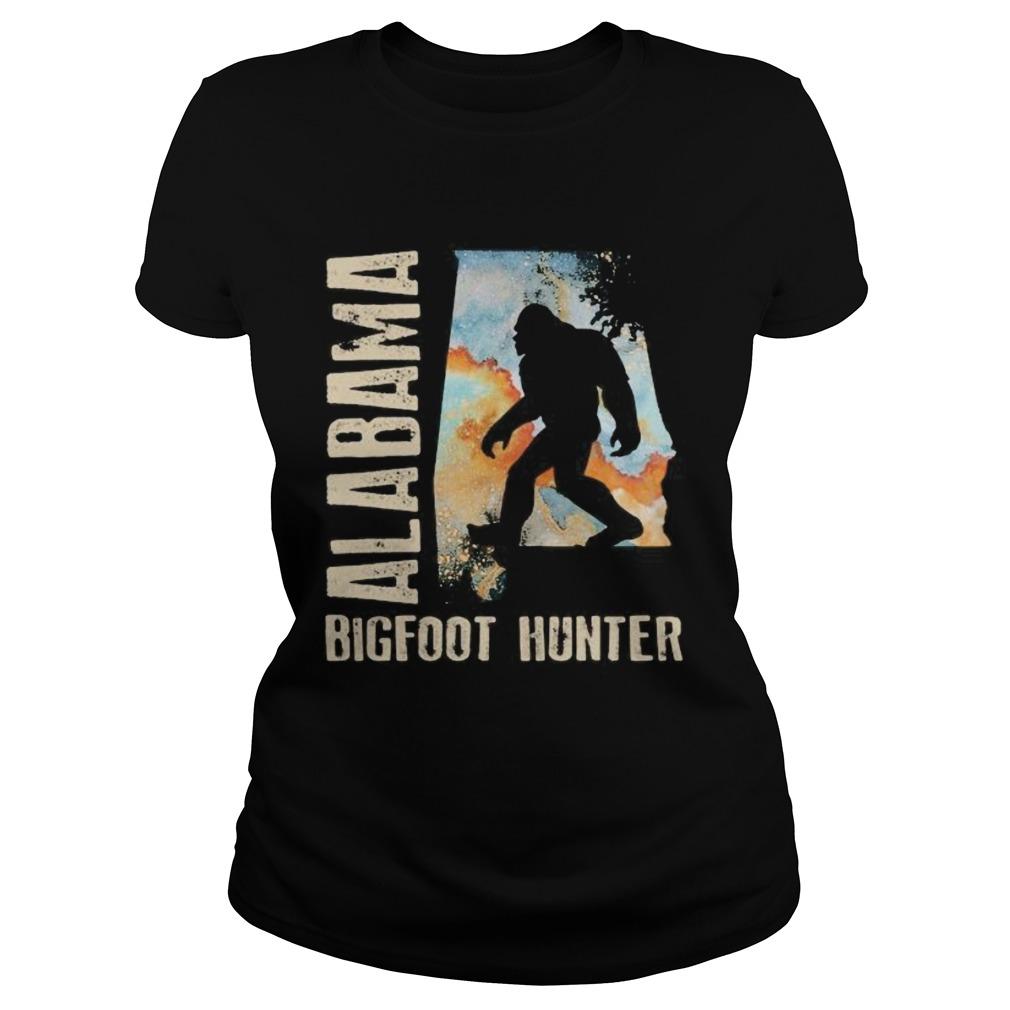 Alabama bigfoot hunter sunset Classic Ladies