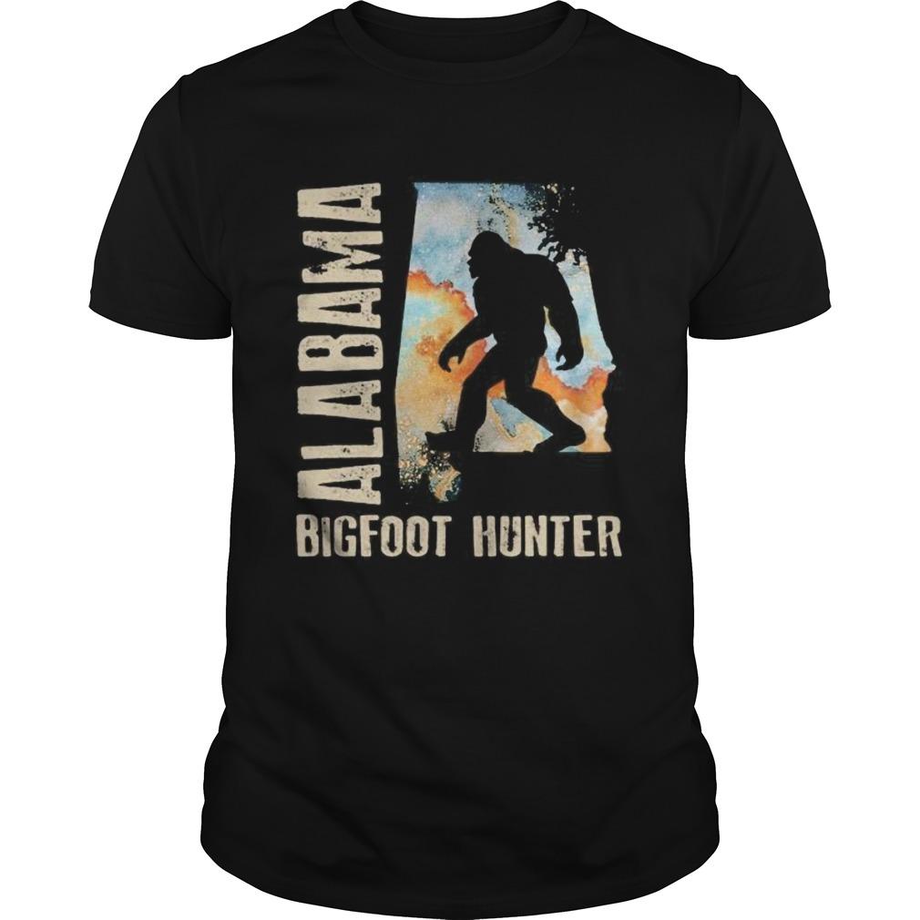 Alabama bigfoot hunter sunset Unisex
