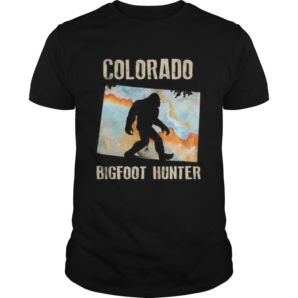 Colorado bigfoot hunter sunset Unisex