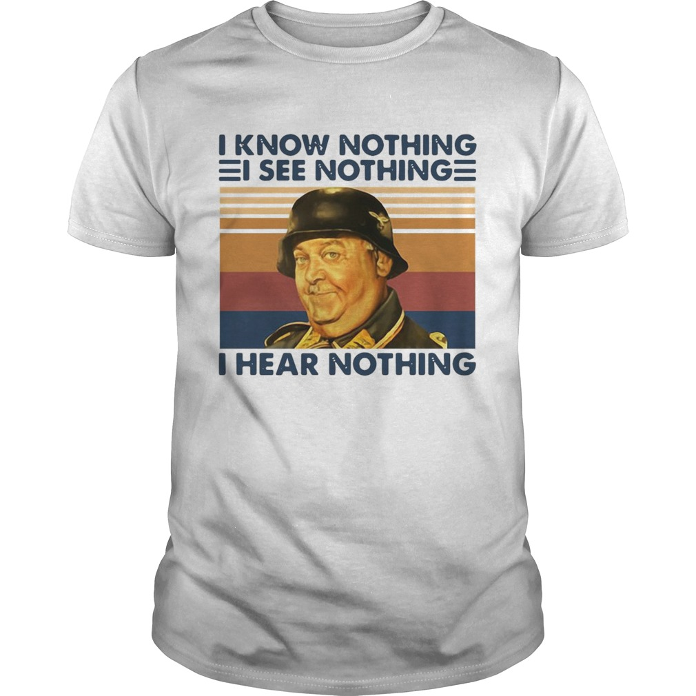 I Know Nothing I See Nothing I Hear Nothing Vintage Unisex