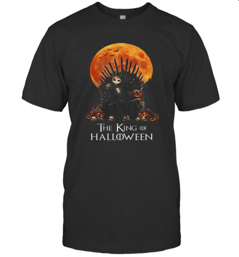Jack Skellington The King Of Halloween T-Shirt Classic Men's T-shirt