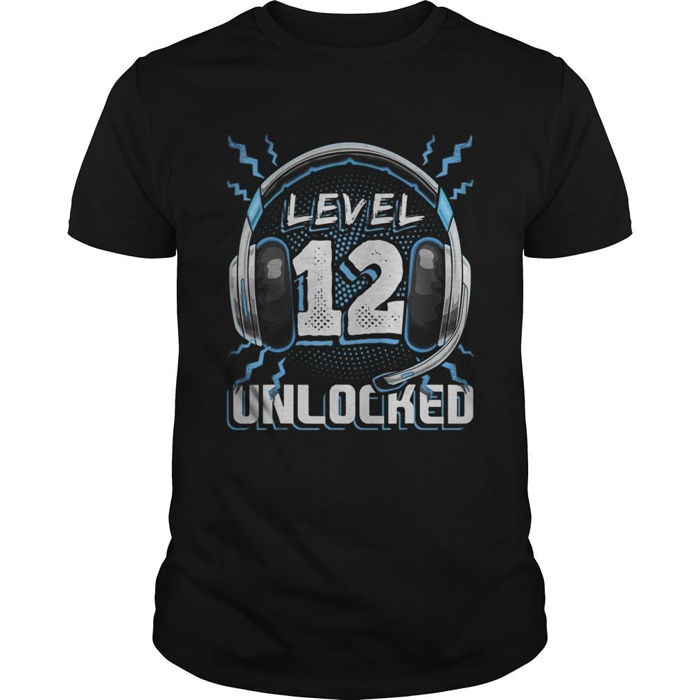 Level 12 Unlocked Video Game 12th Birthday PC Gaming  Unisex