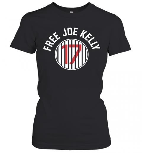 Los Angeles Dodgers 17 Free Joe Kelly T-Shirt Classic Women's T-shirt