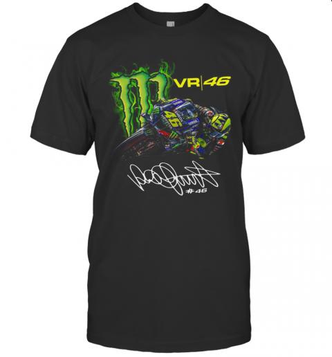 Monster Energy Valentino Rossi VR46 Signature T-Shirt Classic Men's T-shirt