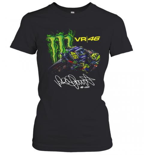Monster Energy Valentino Rossi VR46 Signature T-Shirt Classic Women's T-shirt