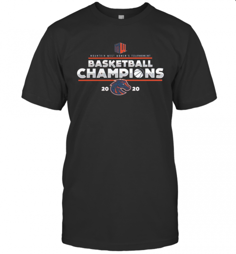 Mountain West Women'S Tournament Basketball Champions 2020 Denver Broncos T-Shirt Classic Men's T-shirt