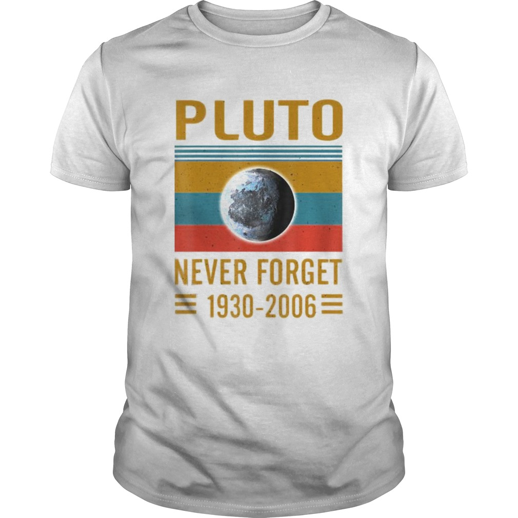 Never Forget Pluto Space Science Unisex