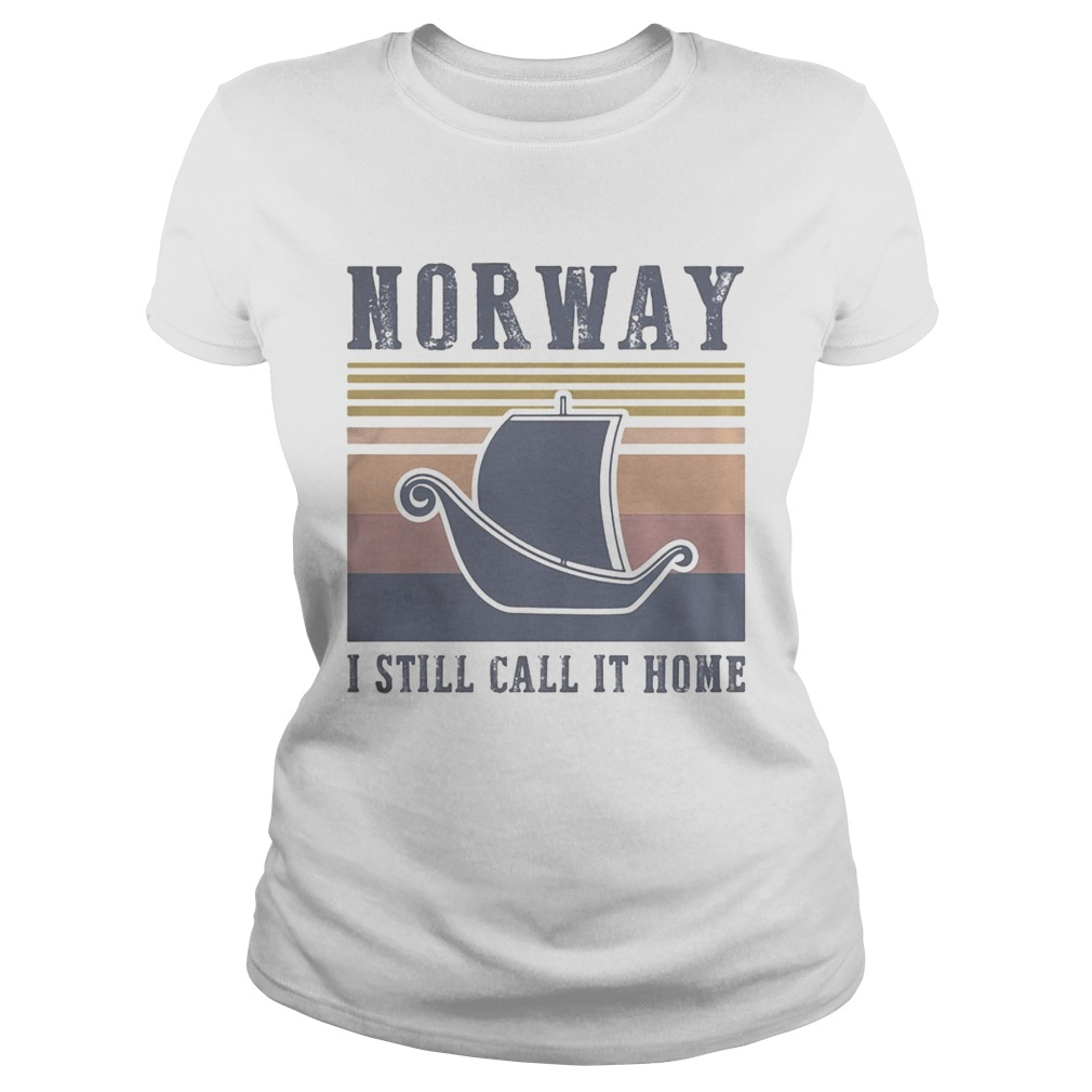 Norway I still call it home vintage retro Classic Ladies
