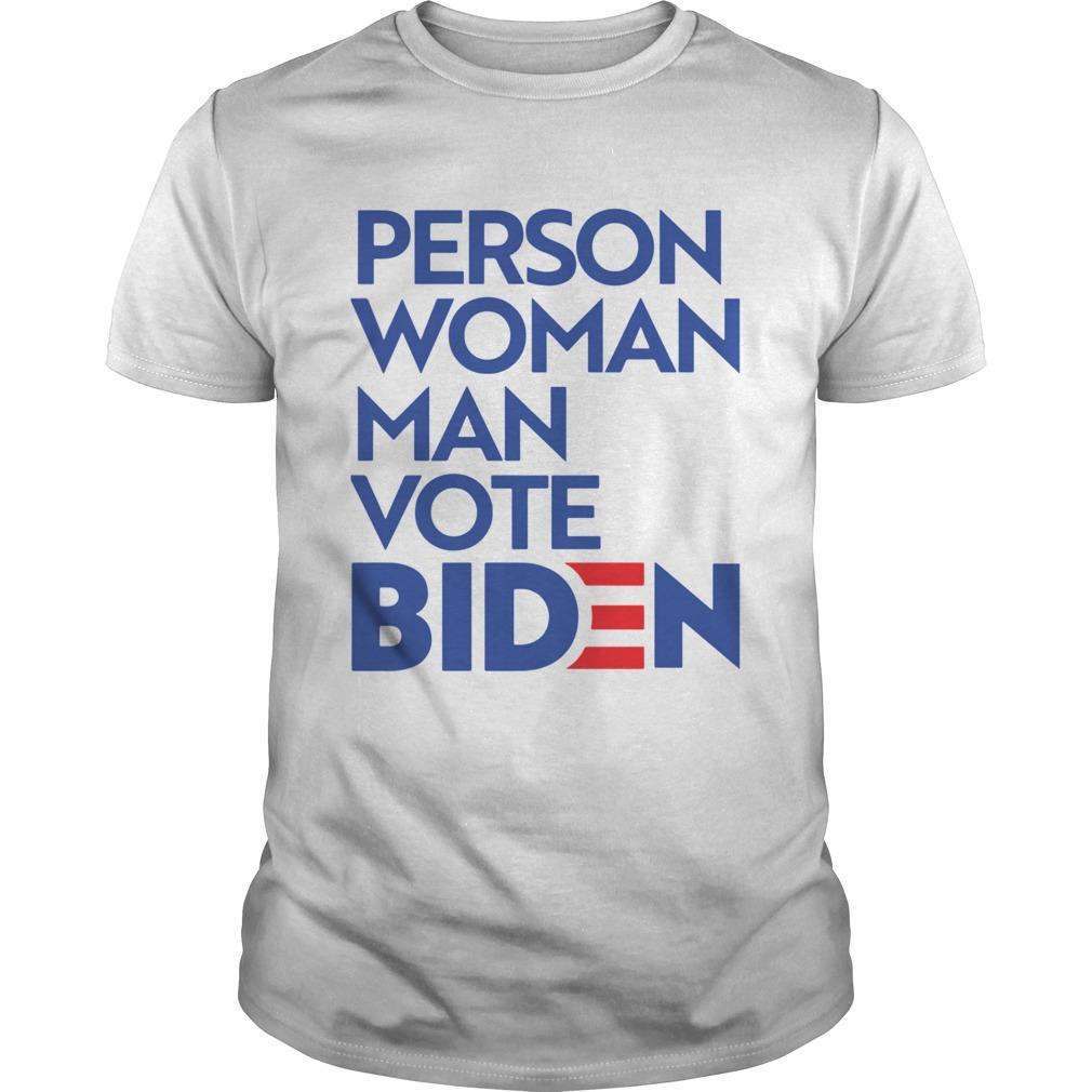 Person Woman Man Vote Biden Unisex