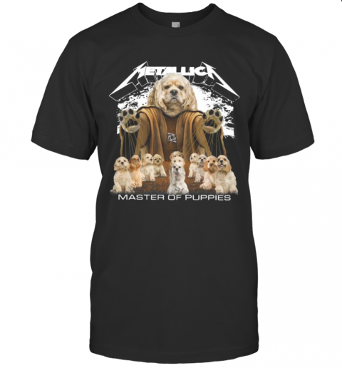 Shih Tzu Metallica Master Of Puppies T-Shirt Classic Men's T-shirt