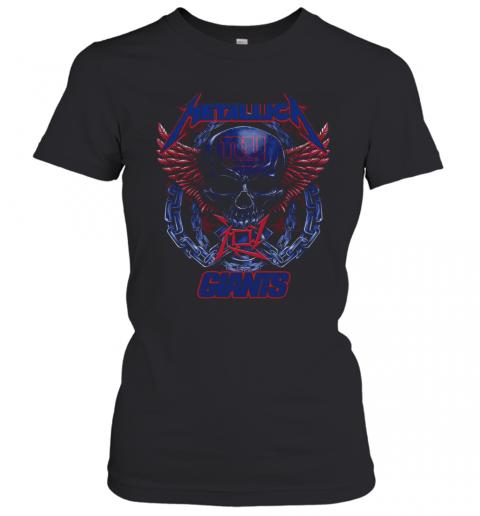 Skull Metallic Giants T-Shirt Classic Women's T-shirt