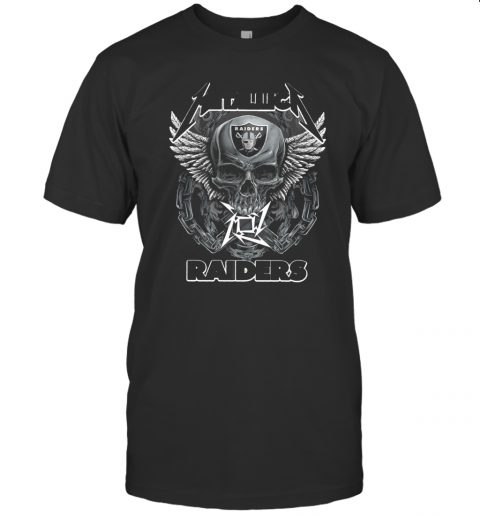 Skull Metallic Raiders T-Shirt Classic Men's T-shirt