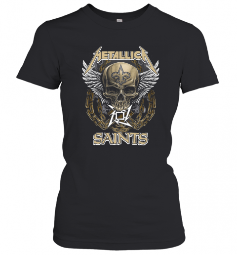 Skull Metallic Saints T-Shirt Classic Women's T-shirt