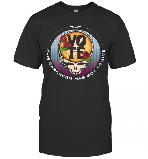 Skull Vote This Darkness Has Got To Give T-Shirt Classic Men's T-shirt