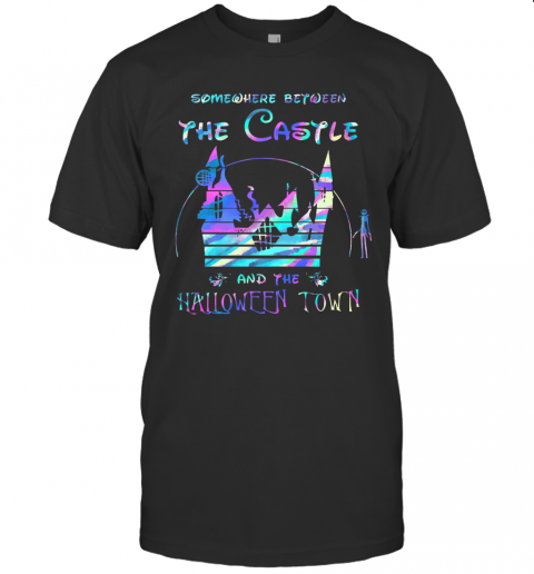 Somewhere Between The Castle And The Halloween Town T-Shirt Classic Men's T-shirt