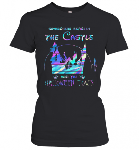 Somewhere Between The Castle And The Halloween Town T-Shirt Classic Women's T-shirt