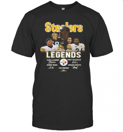 Steelers Legends Signature T-Shirt Classic Men's T-shirt