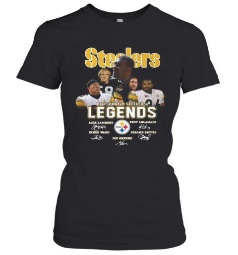 Steelers Legends Signature T-Shirt Classic Women's T-shirt