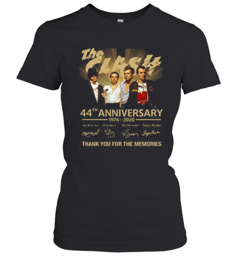 The Clash 44Th Anniversary 1976 2020 Thank You For The Memories Signatures T-Shirt Classic Women's T-shirt