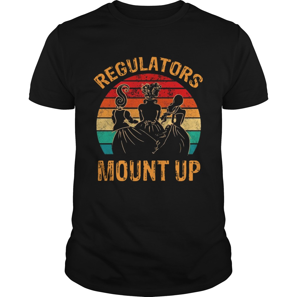 Witch Regulators Mount Up Sunset Unisex
