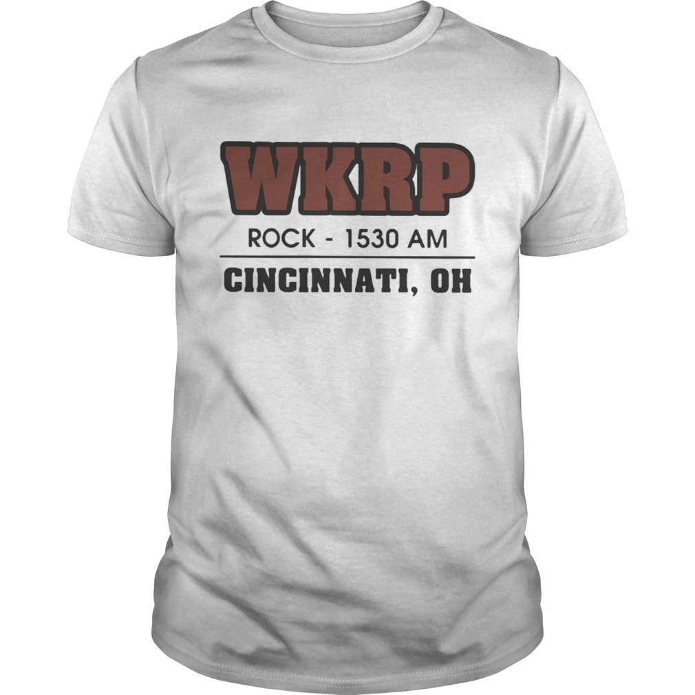 WKRP Rock1530 AM Cincinnati Oh Unisex