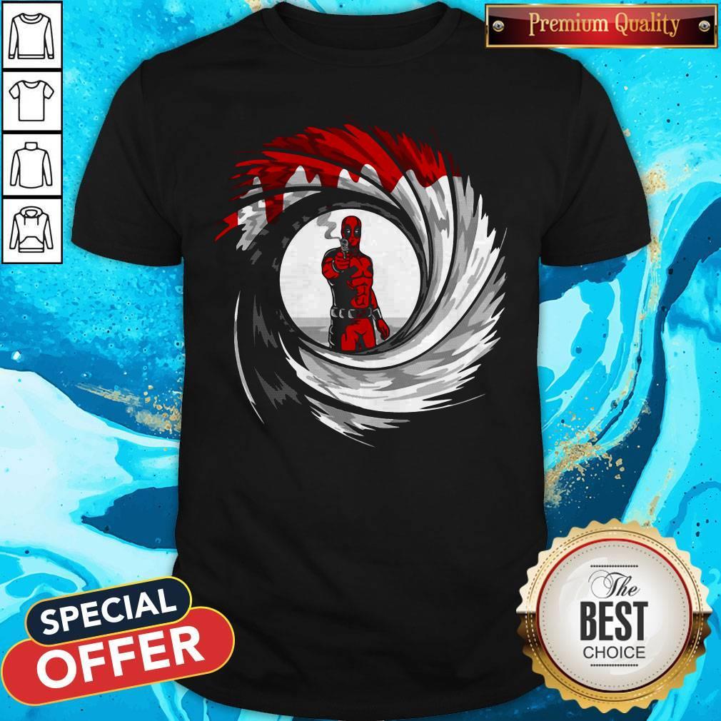 Awesome Deadpool Gun Shirt