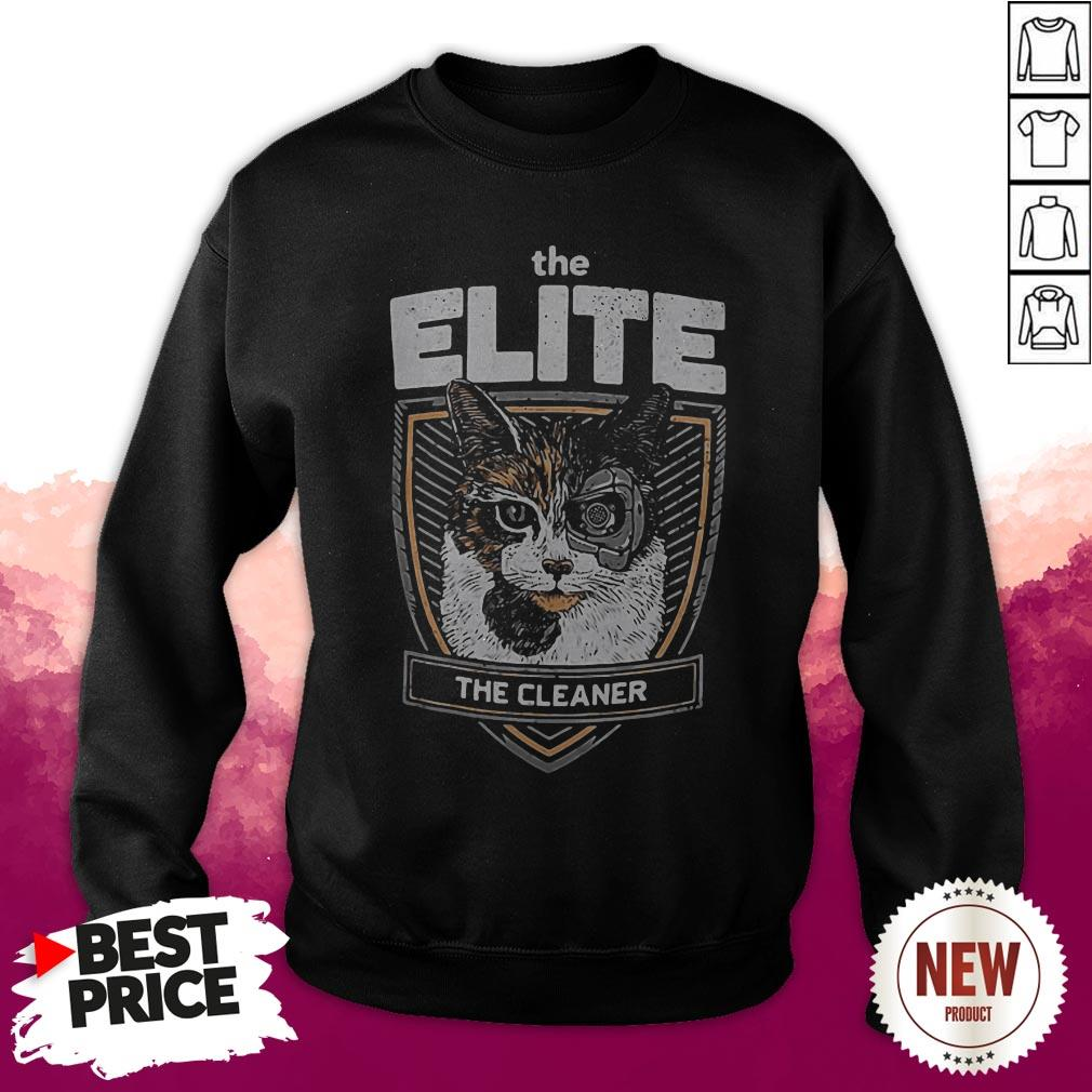 Formal The Elite The Cleaner The Cat Sweatshirt