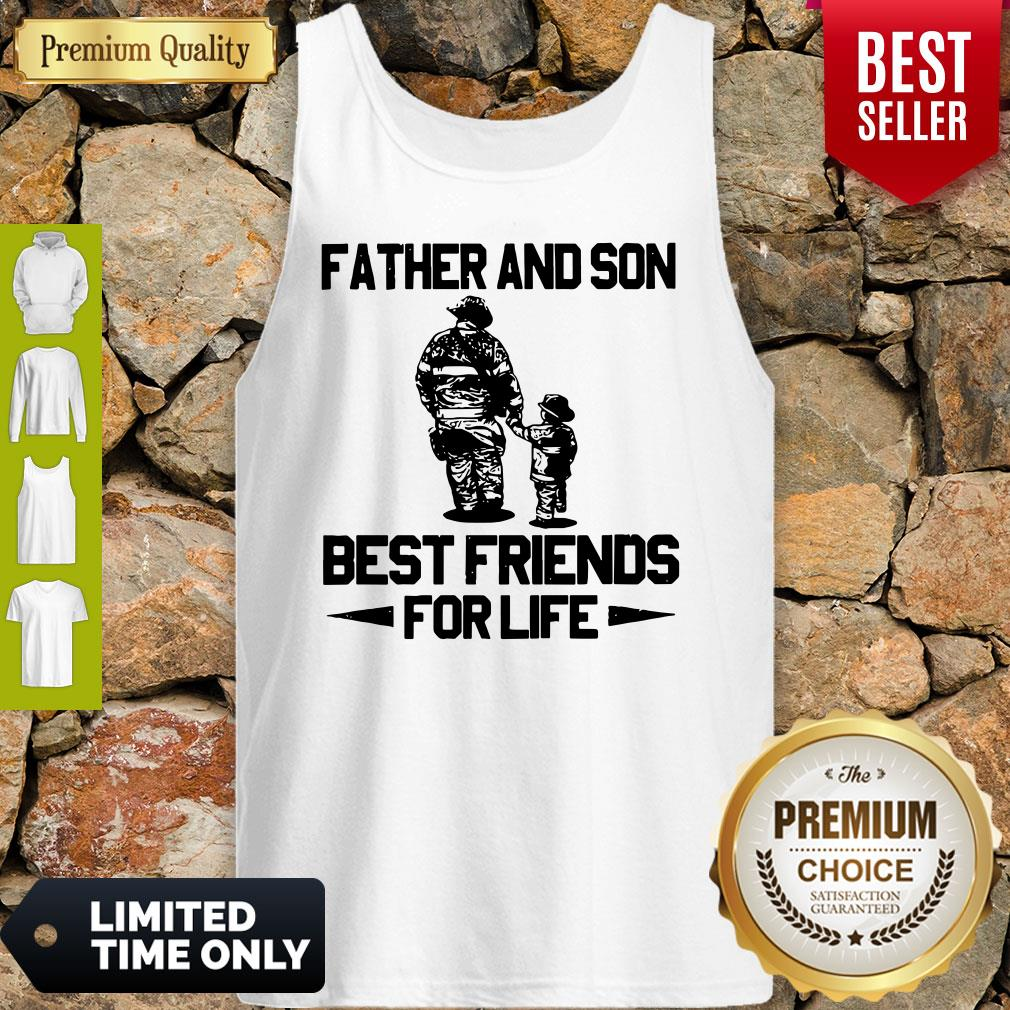 Official 2020 Father And Son Best Friends For Life Tank Top
