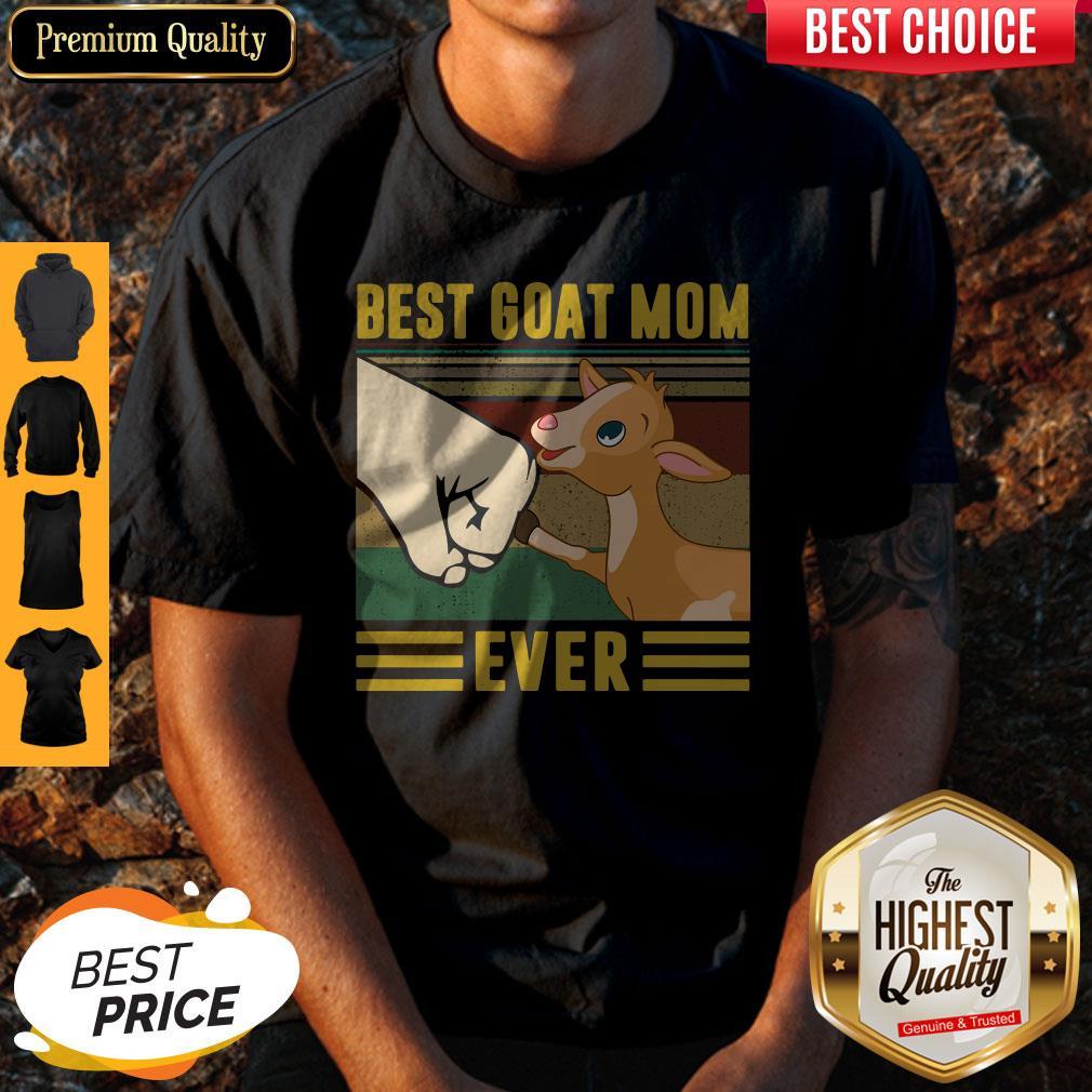 Official Best Goat Mom Ever Vintage Shirt