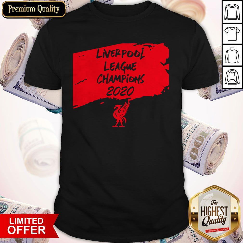 Official Liverpool League Champions 2020 Shirt