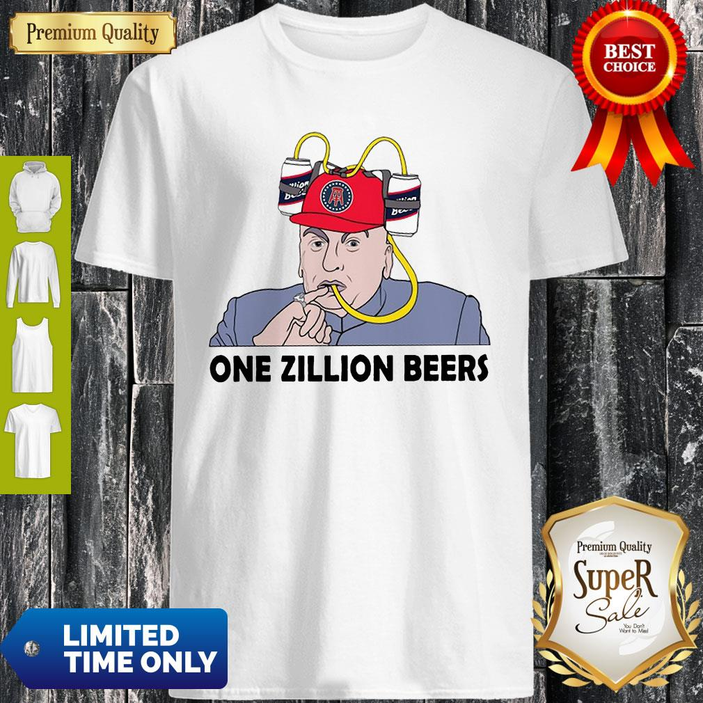 Premium One Zillion Beers Shirt