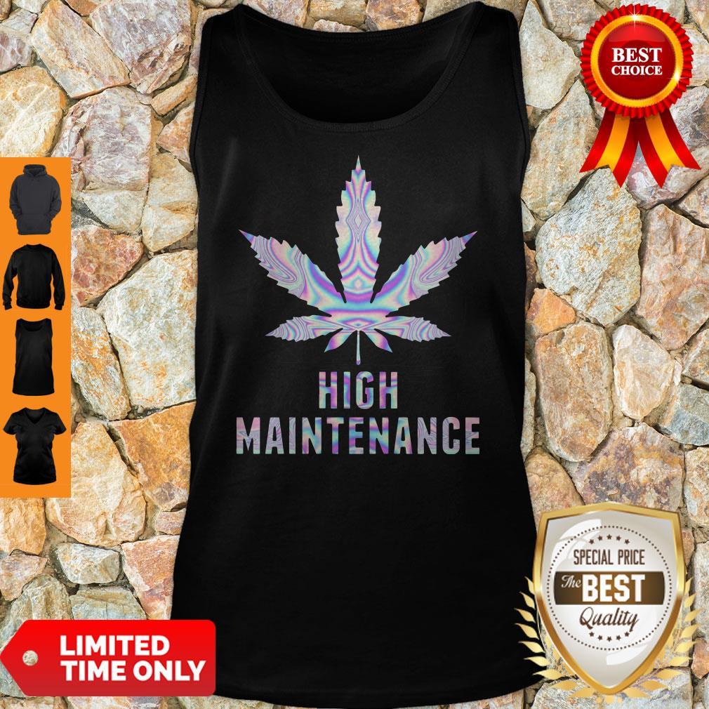Premium Weed High Maintenance Tank Top