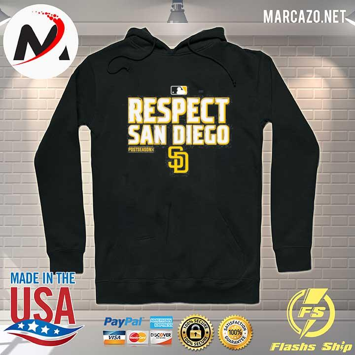 Respect San Diego Padres T-Shirt Hoodie