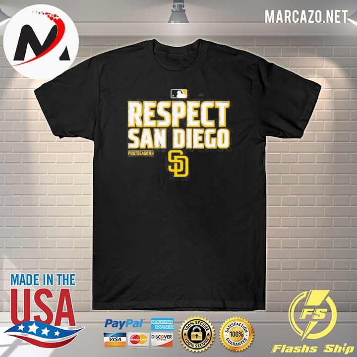 Respect San Diego Padres T-Shirt