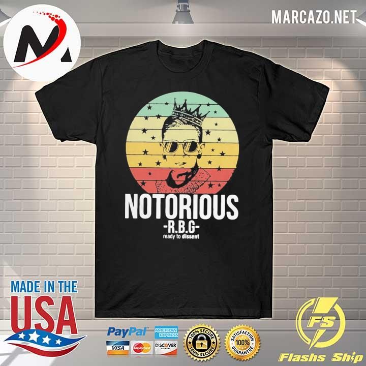 So Rbg Ruth Bader Ginsburg Notorious Ready To Dissent Vintage Shirt