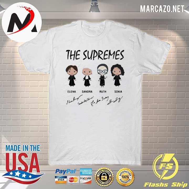 The Supremes Elena Sandra Ruth Sonia Signatures Shirt