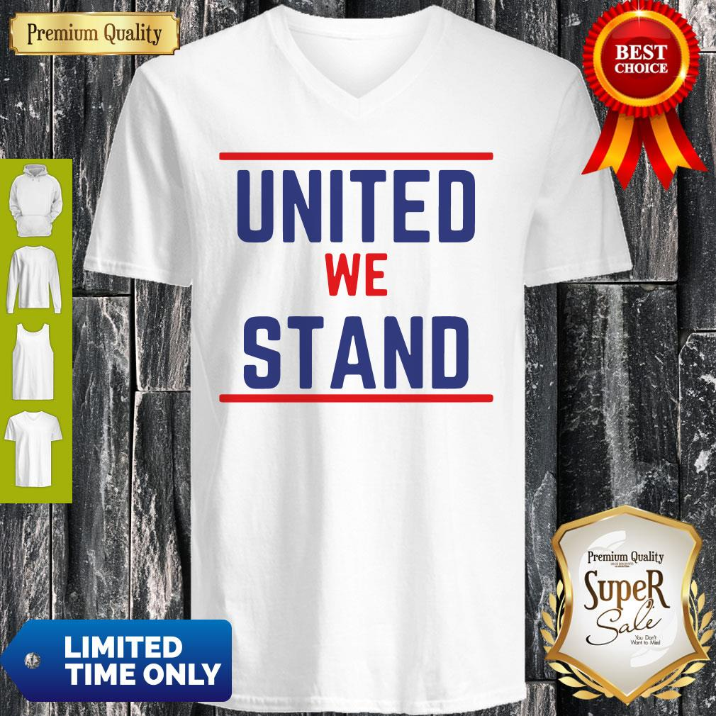 Official The Late Show United We Stand V-neck