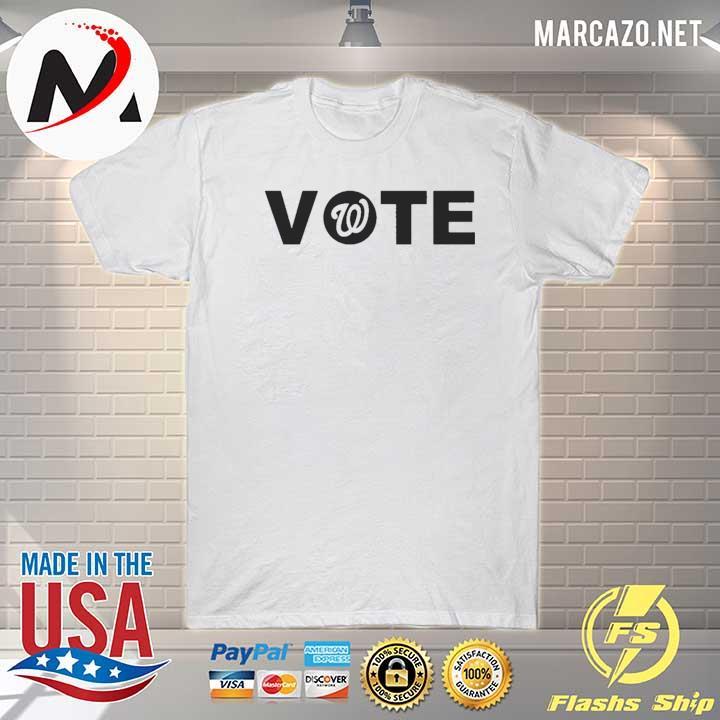 WASHINGTON NATIONALS VOTE T-SHIRT