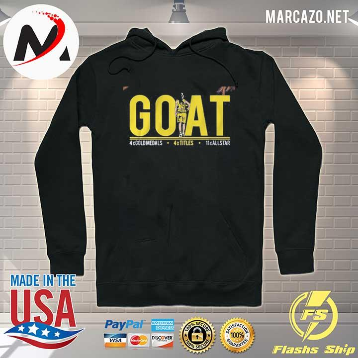 Sue Bird GOAT Shirt Seattle Hoodie