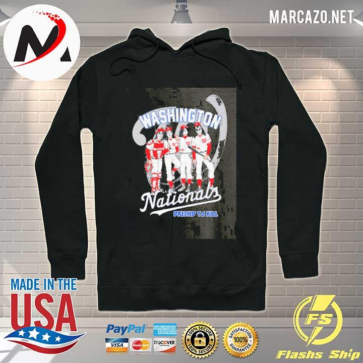 Washington Nationals Dressed To Kill Tee Shirts Hoodie