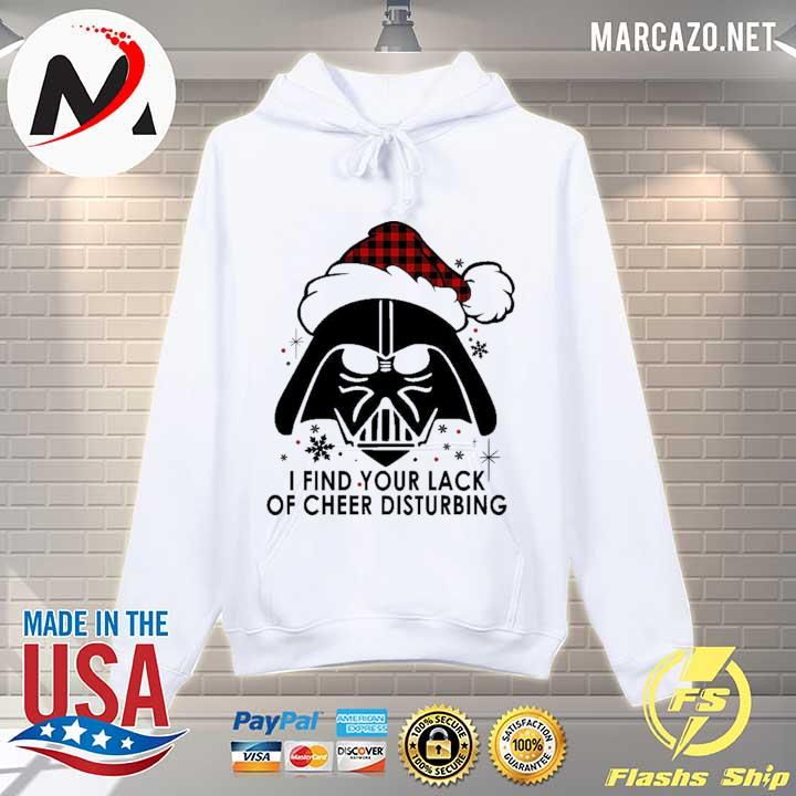 2020 darth vader i find your lack of cheer disturbing christmas 2020 sweats Hoodie