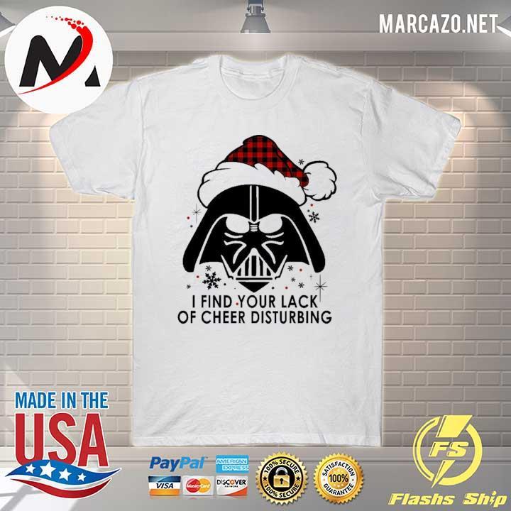 2020 darth vader i find your lack of cheer disturbing christmas 2020 sweatshirt