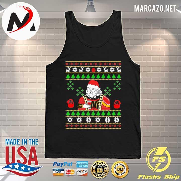 2020 santa leonardo big fat jumper christmas sweats Tank-top