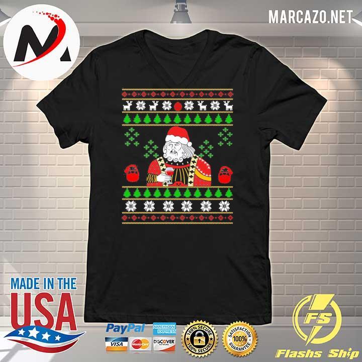 2020 santa leonardo big fat jumper christmas sweats V-neck