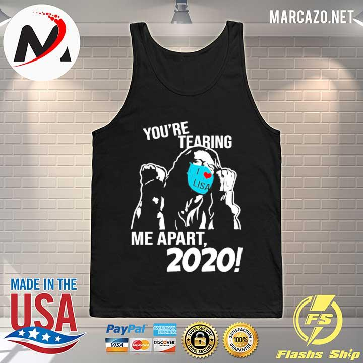 2020 you're tearing i love lisa me apart 2020 s Tank-top